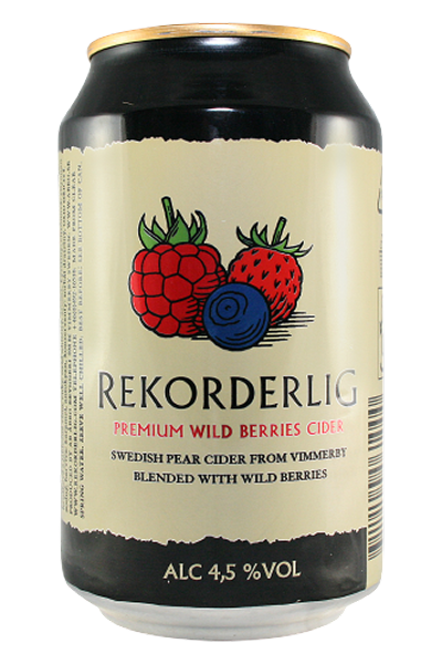 Rekorderlig Cider 4,5% Wildbeere 0,33l