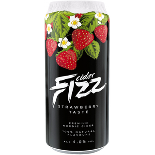 Fizz Strawberry (Erdbeer) Cider - 4,5% - 500ml Dose