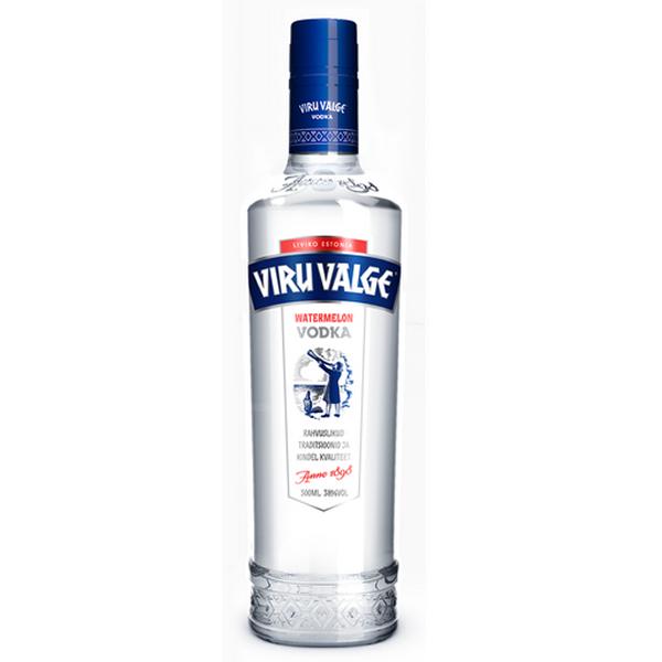 Viru Valge Vodka Watermelon 38% - 500ml - Wassermelone