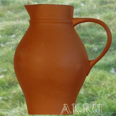Weinkrug - 1,0 Liter - Form WK - natur