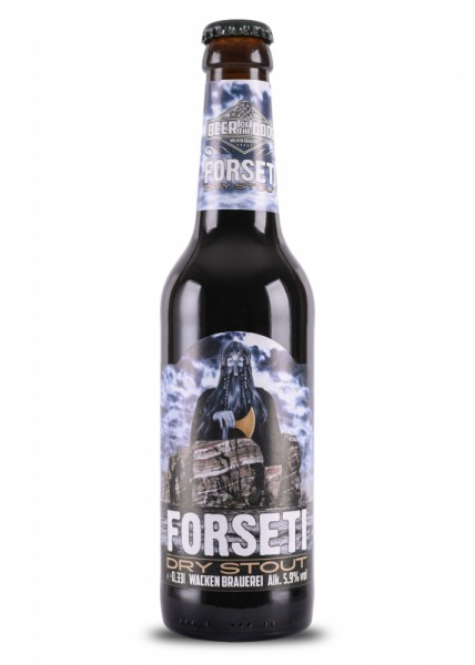 Forseti - Dry Stout - 0,33l Flasche - Beer of Gods