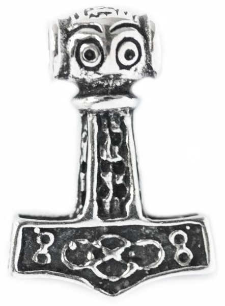 Thorshammer 1.9 cm Silber - at24