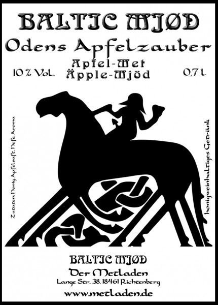 Oden´s Apfelzauber - Apfel-Met - 0,7 l - 10 %