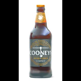 Cooney`s Irisch Cider - Apfel Cider - 4,5% - 500 ml - trocken