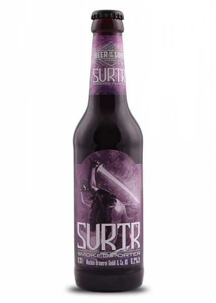 Surtr - Smoked Porter 0,33l - Beer of the Gods