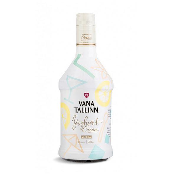Vana Tallinn Joghurt Cream Likör, 16% - 500 ml