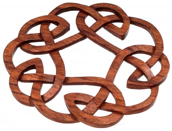 Wandbild - Keltischer Knoten -  Ø 27 cm - ws294