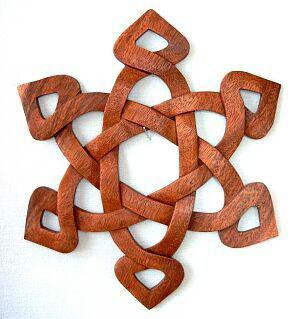 Wandrelief - Keltischer Knoten - ws7