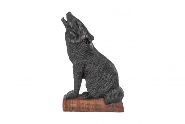 Kleine Wolfs Figur - Geri/Freki - 20 cm - hk1-2