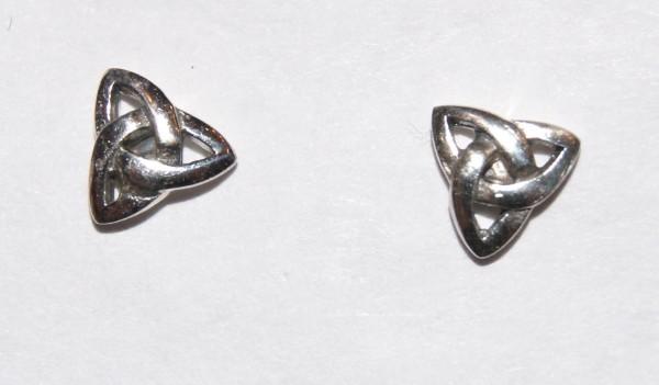 Ohrstecker Celtic - Keltischer Knoten - 925er Silber - ost17