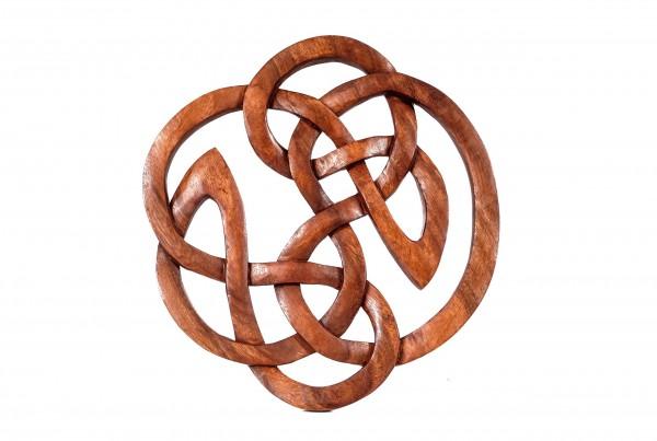 Wandbild - Keltischer Knoten -  Ø 30 cm - ws293