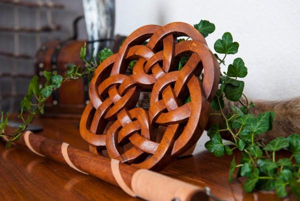 Wandrelief - Keltischer Knoten - Ø 21 cm - ws169
