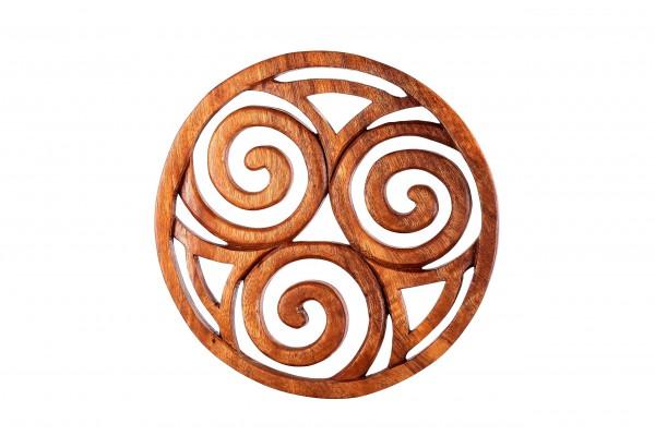 Wandrelief - Celtic Spirals - Ø 19 cm - ws137