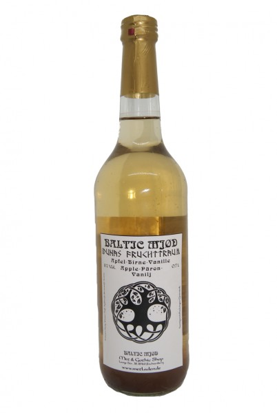 Met - Idunas Fruchttraum - Apfel-Birne-Vanille - Baltic Mjød - 0,7 l