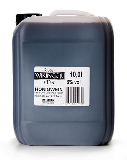 Roter Wikinger-Met im Kanister - 10Liter - alc.6%Vol.
