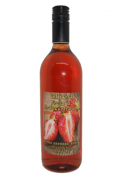 Freja´s Erdbeertraum in 0,75 Liter Flasche - 12 %