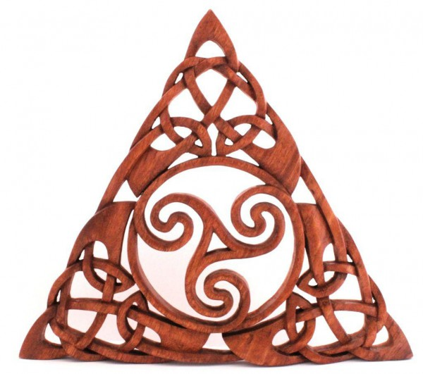 Wandbild - Celtic Triskele - ws250