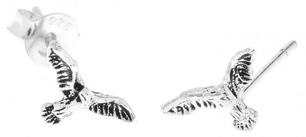 Ohrstecker Adler 10 mm 925 Silber - ost27