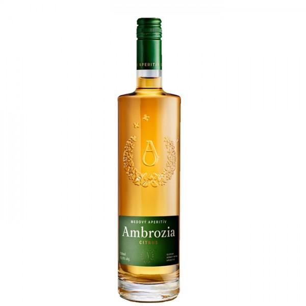Apimed Ambrozia Citrus - slowakischer Met - 0,75 Liter - alc. 13,5 % Vol.