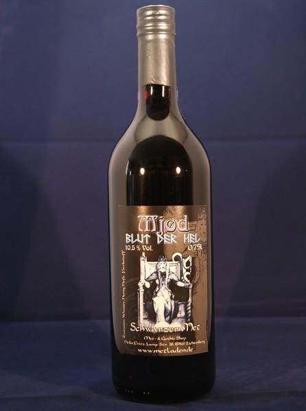 Blut der Hel - Schwarzer Met - 10,0 % - 0,75 Liter