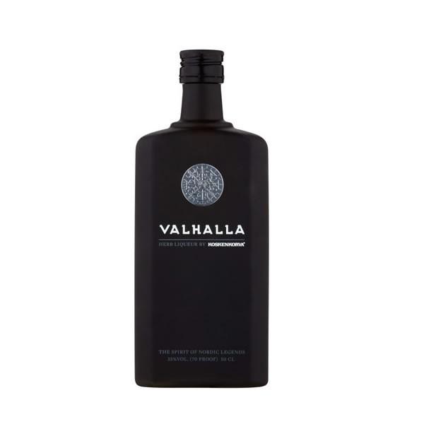Valhalla Kräuterlikör - Koskenkorva - Finnland - 0,5Liter - alc.35 %Vol.