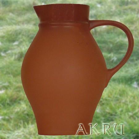 Weinkrug - 1,0 Liter - Form WK - natur/transparent