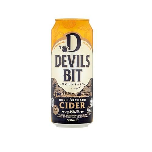 Devils Bit  Apple (Apfel) Cider - 6 % - 500ml Dose - trocken