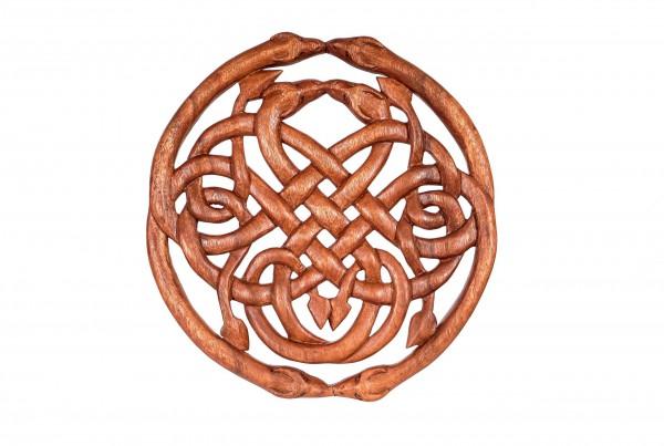 Wandbild - Keltischer Knoten - Drachen - ws71