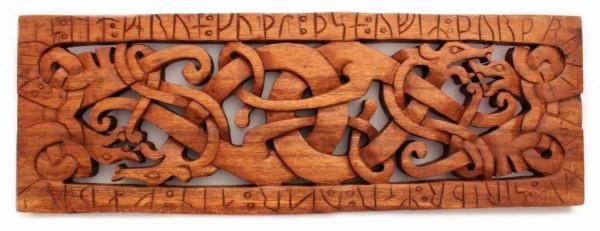 Wandrelief - Drachen mit Runen - ws252