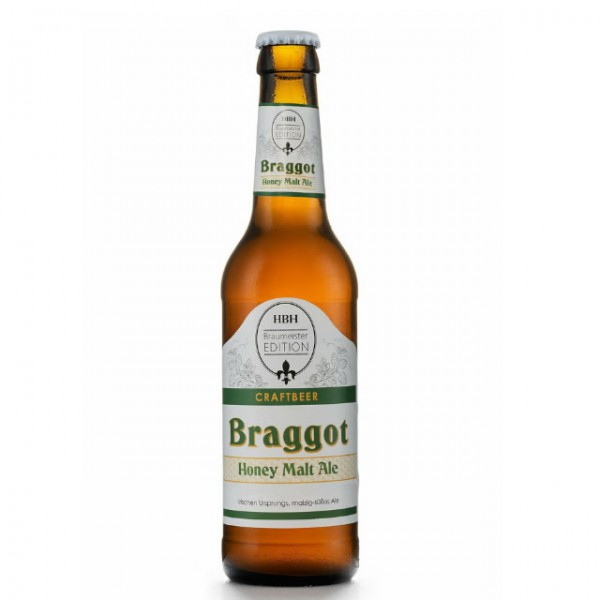 Braggot - Honey Malt Ale - Honigbier - 0,33 l - 5,9 %