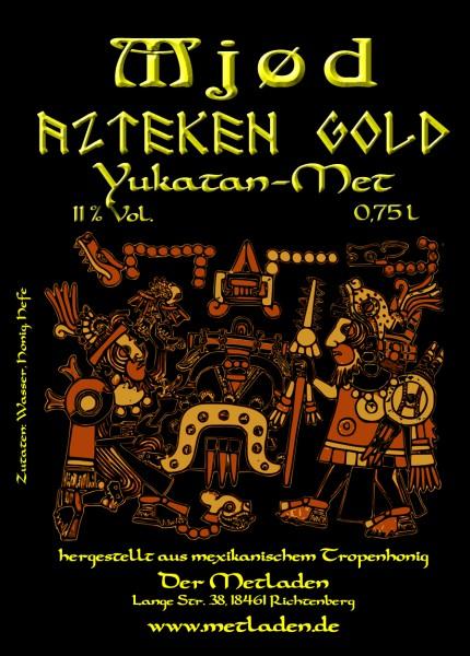 Azteken Gold - Yukatan Honig Met - 11 % - 0,75 l