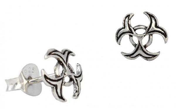 Ohrstecker  Keltischer Ohrschmuck 4 mm Silber - ost63