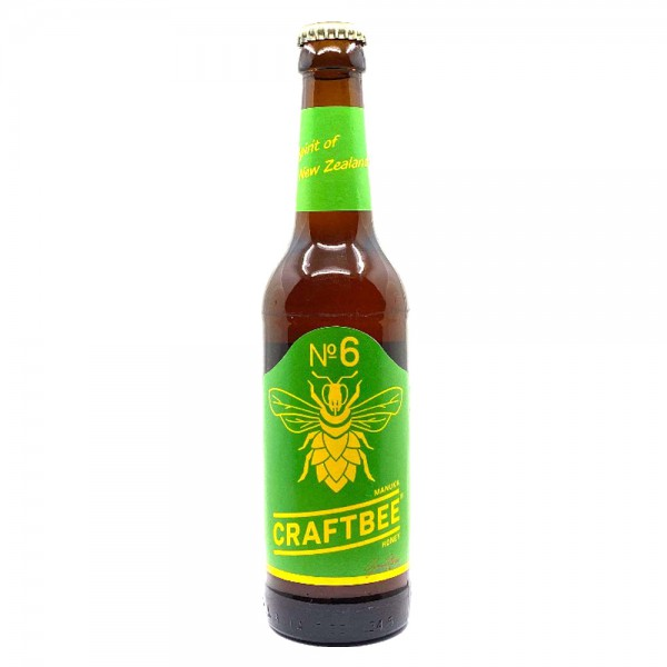 Craftbee No6 – Manuka Honey 0,33L - 5% Vol. - Honigbier