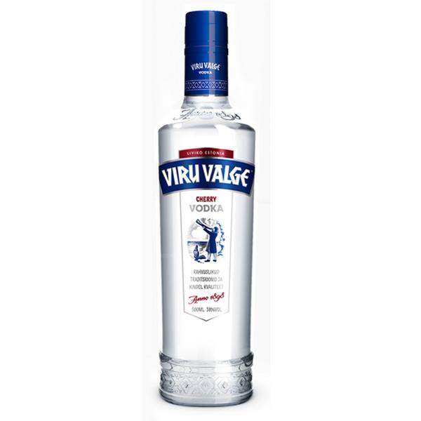 Viru Valge Vodka Cherry 38%, 500ml - Kirsch Wodka