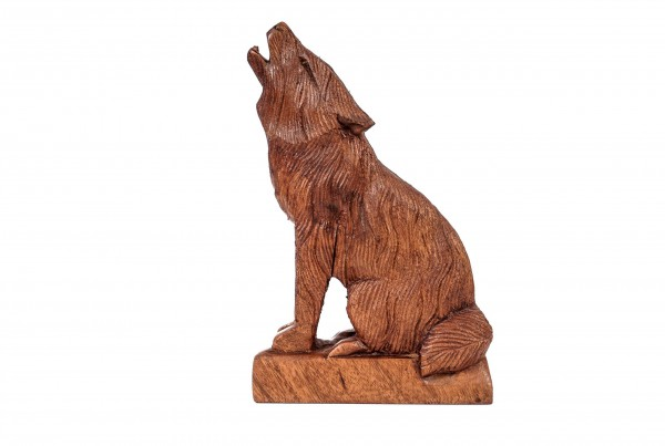 Kleine Wolfs Figur - Geri/Freki - 20 cm - hk1