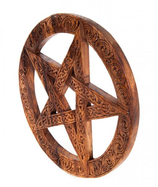 Wandrelief - Keltisches Pentagramm - Ø 40 cm - ws155