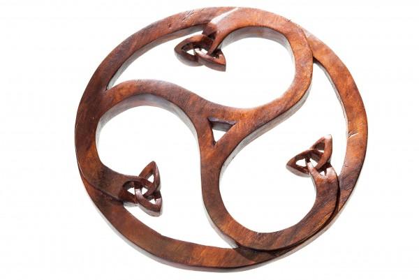 Wandbild - Celtic Triskele - Ø 23 cm - ws272