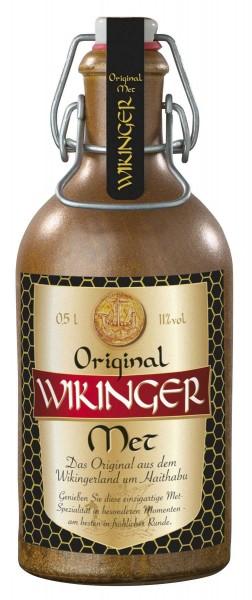 Original Wikinger-Met in dekorativer Tonflasche - 0,5Liter - alc.11%Vol.