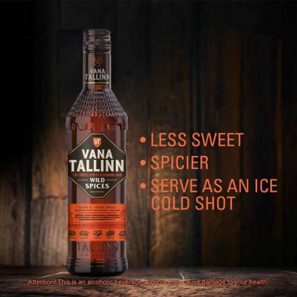 Vana Tallinn Wild Spices Likör - 0,5Liter - alc.35%Vol.