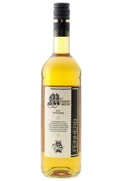 Met halbtrocken - Honigwein herb - 0,7 l - 12 %
