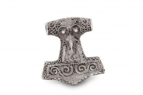 Thorshammer Skånehammer 4 cm Silber - at28