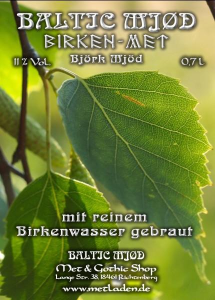 Birken - Met - Honigwein mit Birkenwasser - 0,7 l - 11 %