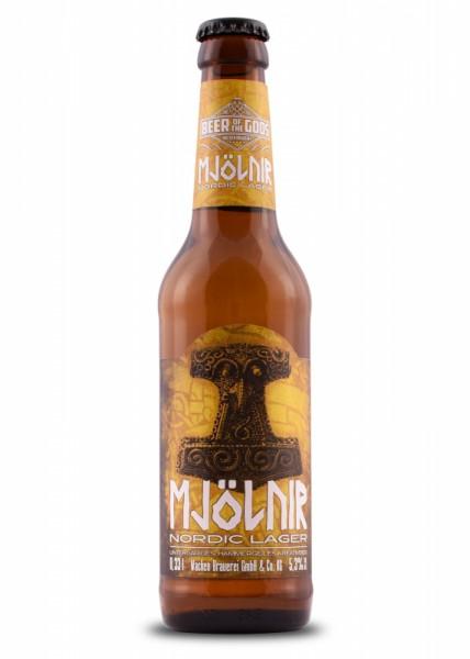 Mjölnir - Nordic Lager - 0,33l Flasche - Beer of the Gods