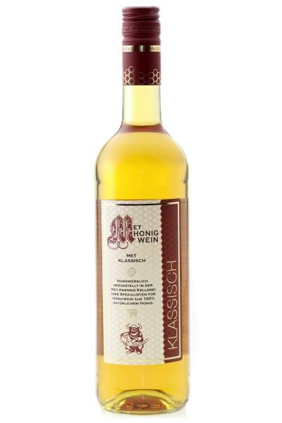Met klassisch - lieblicher Honigwein - 0,75l Fl. - 11 %