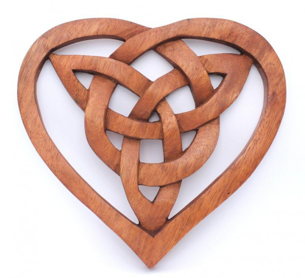 Wandbild - Keltischer Knoten - Herz - ws254