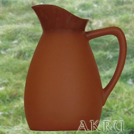 Weinkrug - 1,0 Liter - Form FR - natur/transparent