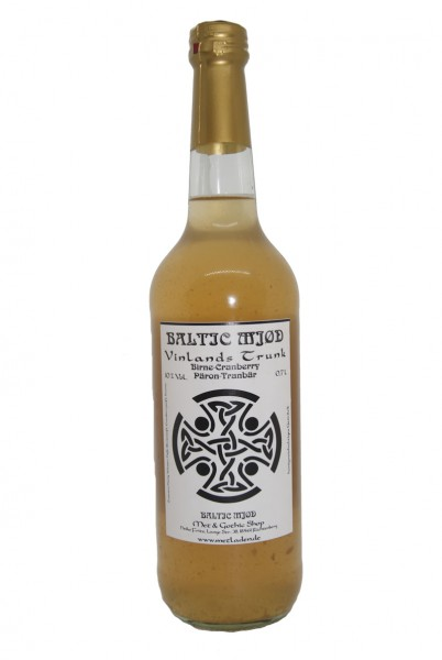 Vinlands Trunk -Met mit Birne/Cranberry-Baltic Mjød -0,7 l