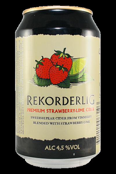 Rekorderlig Cider 4,5% Erdbeer-Limette 0,33l