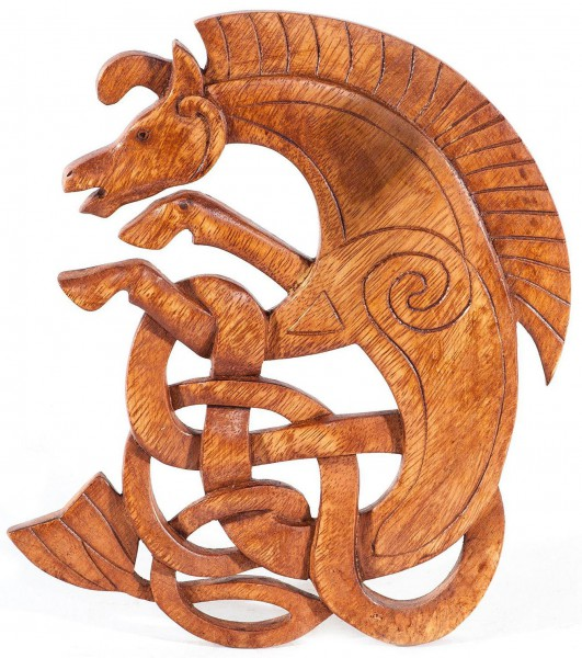 Wandbild - Keltisches Seepferd - ws221