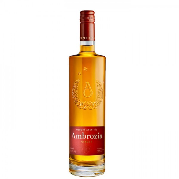 Apimed Ambrozia Ginger - slowakischer Met - 0,75 Liter - alc. 13,5 % Vol.
